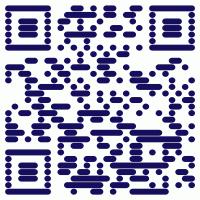 Bernd mit QR-Code und mobiler Webseite