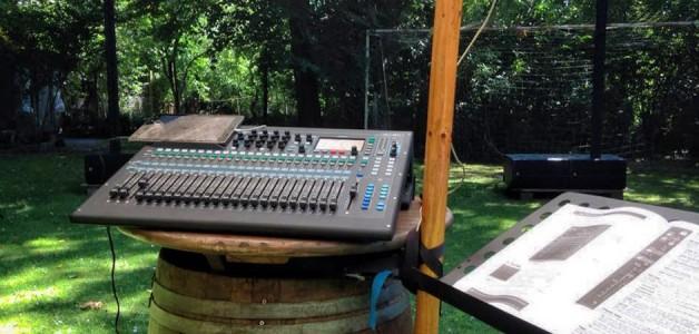 Neue Soundanlage am Start