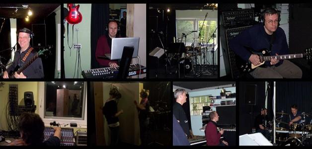 Bremer Band im Tonstudio